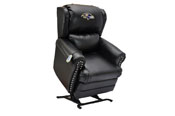 Baltimore Ravens Coach Leather Lift Chair