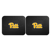 Pittsburgh Backseat Utility Mats 2 Pack 14x17