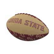 FL State Repeating Mini-Size Rubber Football