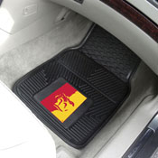 Pittsburg State 2-PC Vinyl Car Mats 17x27
