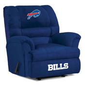 Buffalo Bills Big Daddy Microfiber Recliner