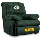 Green Bay Packers Home Team Microfiber Recliner