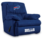 Buffalo Bills Home Team Microfiber Recliner