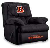 Cincinnati Bengals Home Team Microfiber Recliner