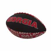 Georgia Repeating Mini-Size Rubber Football