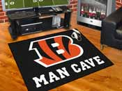 NFL - Cincinnati Bengals Man Cave All-Star Mat 33.75x42.5