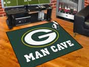 NFL - Green Bay Packers Man Cave All-Star Mat 33.75x42.5