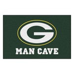 NFL - Green Bay Packers Man Cave Starter Rug 19x30