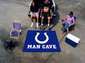 NFL - Indianapolis Colts Man Cave Tailgater Rug 5'x6'