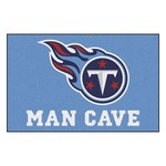 NFL - Tennessee Titans Man Cave Starter Rug 19x30