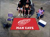 NHL - Detroit Red Wings Man Cave UltiMat Rug 5'x8'
