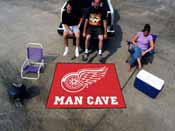 NHL - Detroit Red Wings Man Cave Tailgater Rug 5'x6'