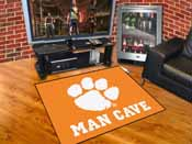 Clemson Man Cave All-Star Mat 33.75x42.5