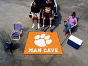 Clemson Man Cave Tailgater Rug 5'x6'