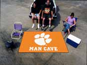 Clemson Man Cave UltiMat Rug 5'x8'