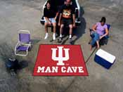 Indiana Man Cave Tailgater Rug 5'x6'
