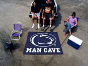 Penn State Man Cave Tailgater Rug 5'x6'