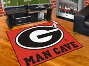 Georgia Man Cave All-Star Mat 33.75x42.5