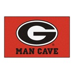 Georgia Man Cave UltiMat Rug 5'x8'