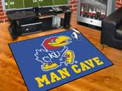 Kansas Man Cave All-Star Mat 33.75x42.5