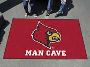 Louisville Man Cave UltiMat Rug 5'x8'
