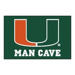 Miami Man Cave Starter Rug 19x30