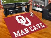 Oklahoma Man Cave All-Star Mat 33.75x42.5