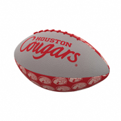 Houston Repeating Mini-Size Rubber Football
