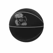 Kansas Blackout Full-Size Composite Basketball