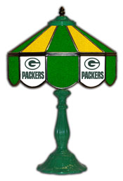 Green Bay Packers 21 inch Glass Table Lamp