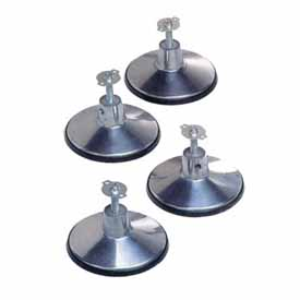 Imperial Standard Pool Table Leg Levelers, Set Of 4