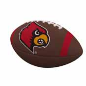Louisville Team Stripe Official-Size Composite Football