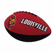 Louisville Combo Logo Junior-Size Rubber Football