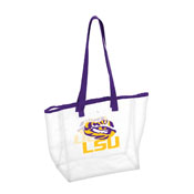LSU Stadium Clear Tote