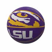 LSU Mascot Official-Size Rubber Basketball
