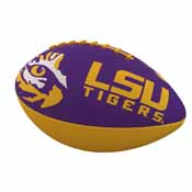 LSU Combo Logo Junior-Size Rubber Football
