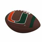 Miami Team Stripe Official-Size Composite Football