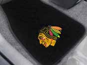 NHL - Chicago Blackhawks 2-pc Embroidered Car Mats 18x27
