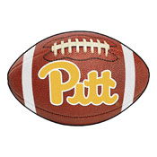 Pittsburgh Football Rug 20.5x32.5
