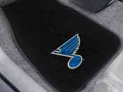 NHL - St. Louis Blues 2-pc Embroidered Car Mat Set