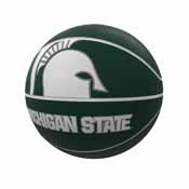 MI State Mascot Official-Size Rubber Basketball
