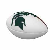 MI State Official-Size Autograph Football