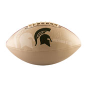 MI State Full-Size Autograph Football