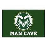Colorado State Man Cave Starter Rug 19x30