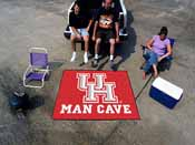 Houston Man Cave Tailgater Rug 5'x6'