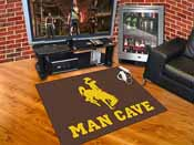 Wyoming Man Cave All-Star Mat 33.75x42.5