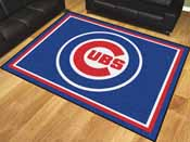 MLB - Chicago Cubs 8'x10' Rug