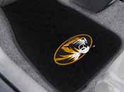 Missouri 2-piece Embroidered Car Mats 18x27