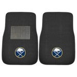 NHL - Buffalo Sabres 2-pc Embroidered Car Mats 18x27