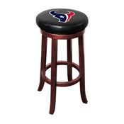 Houston Texans Wooden Bar Stool